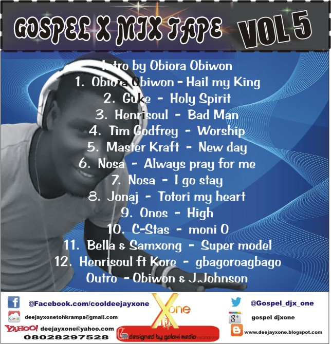 DJ X One - Gospel X Mix (Vol. 5)
