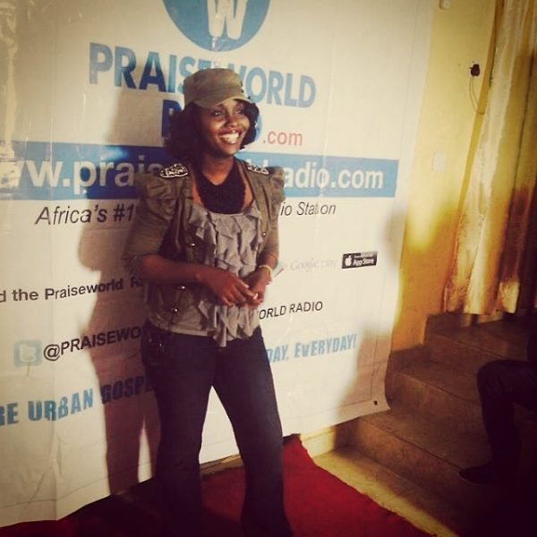 Onos at Praiseworld Radio's Anniversary Praise Party on June 1, 2014