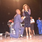 PHOTOS: TOLA (CEO, Praiseworld Radio) Proposes to Fiancée LIVE at Crystal Awards