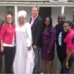 Adetoun with State dignitaries, Big Bolaji  & the legendary Don Moen