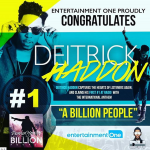 Deitrick Haddon's #ABillionPeople Emerges as the number #1 Song on America Radio