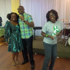 Tosinger, Segun Obe & Priscilla at the New Nig after event by FECA Network in Georgia. Oct 2014