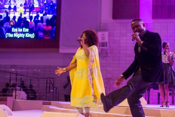 Glowreeyah Braimah & Evang Chuks Chudibe Performing a Duet