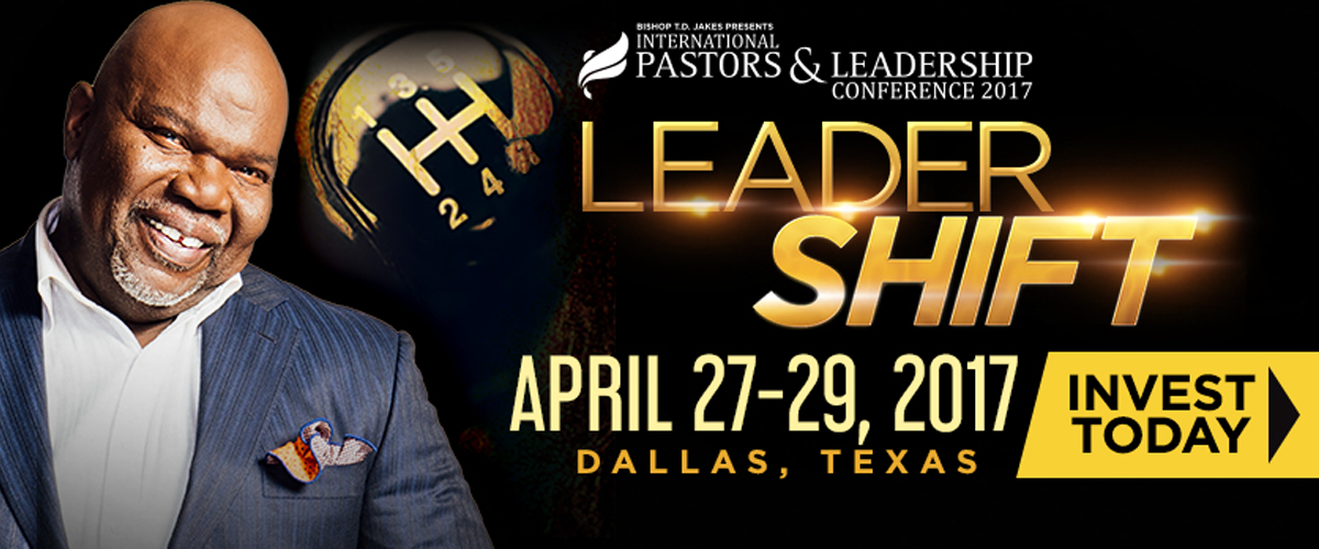 td jakes leadership conference 2020